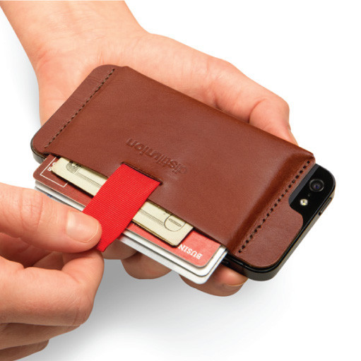 Distil Union's Walley iPhone Wallet/Case (brown)