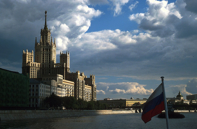 Seeing Moscow from the Water, Russia