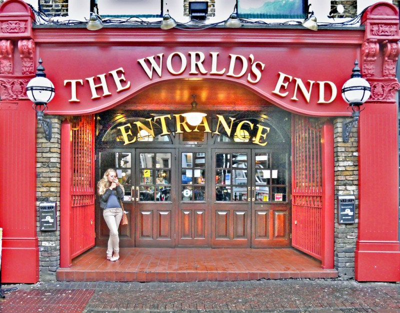 World's End Pub in Camden, London